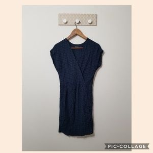 Madewell dress v neck wrap size S